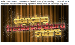 Fred Dance with Stars Pic